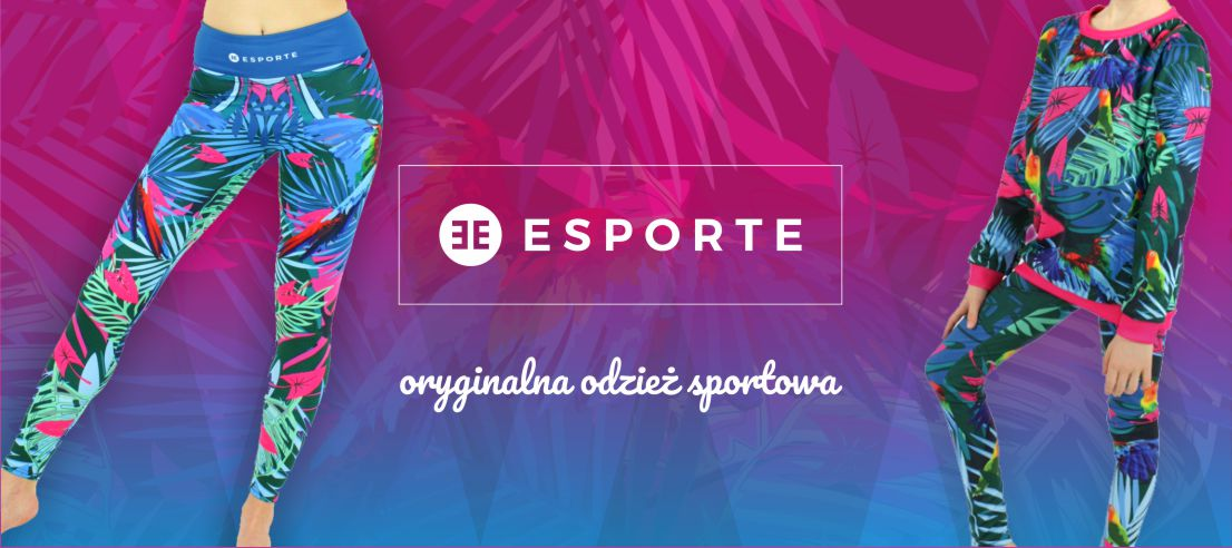 40330cf6fa95fb ESPORTE - oryginalna odzież sportowa
